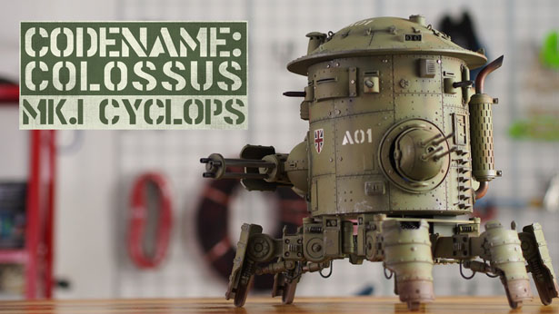 Codename Colossus Mk.I Cyclops - Electronic Walking Tank Model