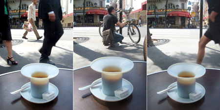 drink coffee with new york culture or paris culture