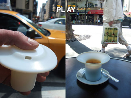 coffee cup dual function
