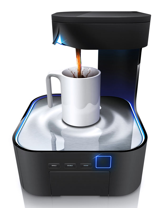 Coffee Machine Design by HJC Design
