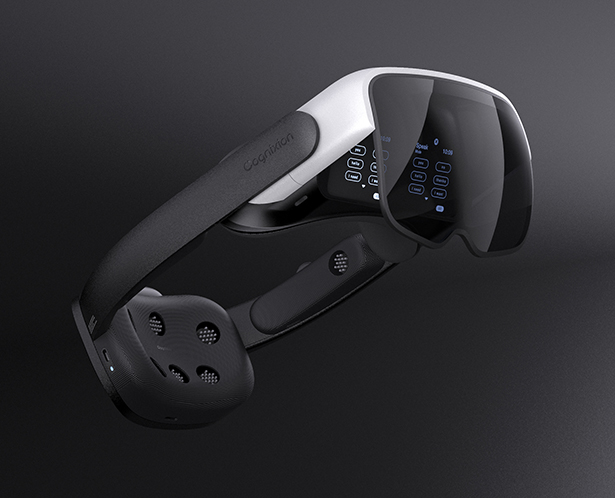 Cognixion ONE AR Headset Can Be Controlled with Your Brain