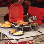 Coleman Fold N Go Instastart Grill Features Foldable Design for Easy Transport