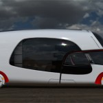 Colim Caravan Concept : A Cool Combination of A Car and A Caravan Camper