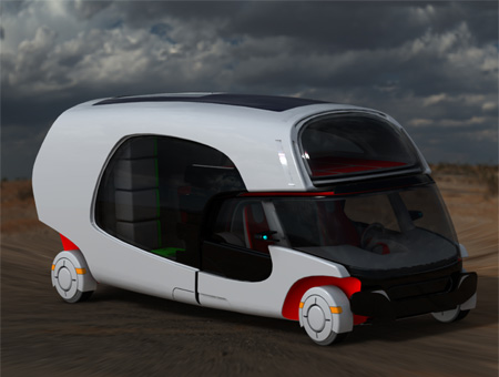 Colim Caravan Concept A Cool Combination Of A Car And A