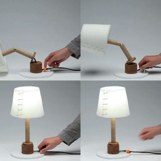 Cute Collapse Lamp Design Was Inspired by Toy Figurines