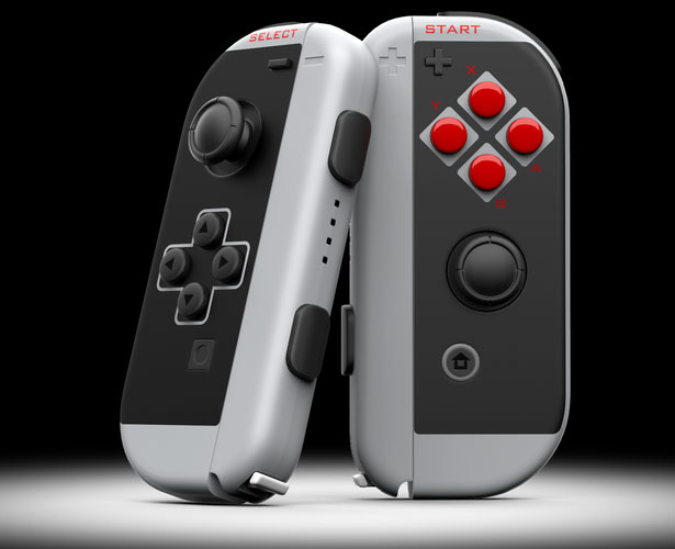 ColorWare Joy Con Classic Controllers Bring Back Good Childhood Memories You Have with Classic NES