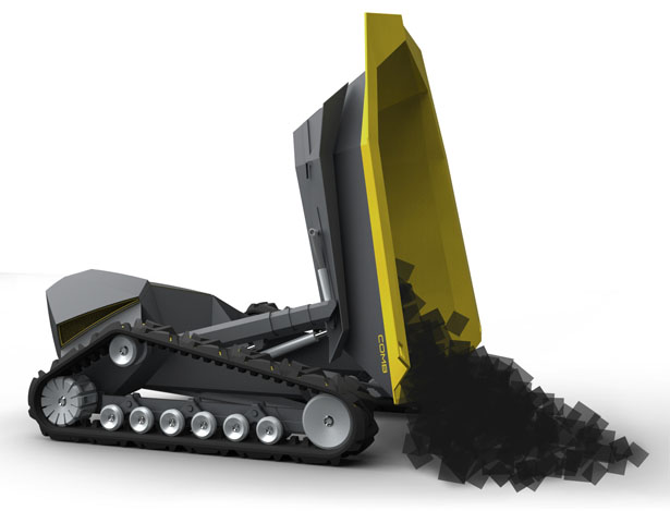 COMB Dump Truck Features Smart Tray-Changing Technique and