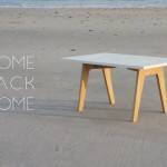 Come Back Home Minimalist Table by Clement Brouillat
