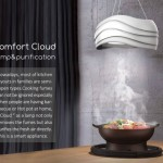 Comfort Cloud Lamp Lights Up Your Kitchen and Purifies Cooking Fumes