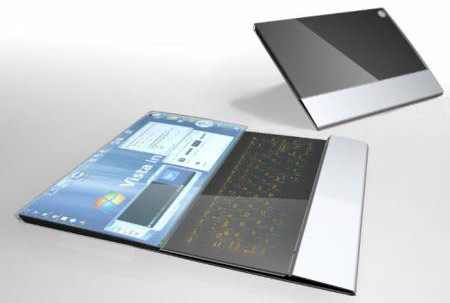 compenion futuristic laptop