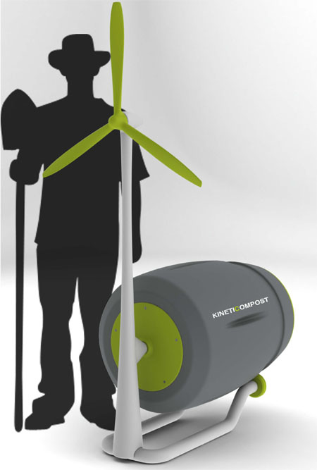 KinetiCompost Makes Eco-Friendly Compost Faster and Easier Than Ever