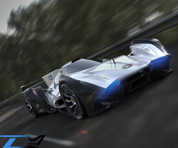 Concept Car for Le Mans 2030 by Jorge Anaguano Quijia