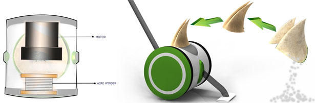 Concept Vacuum Cleaner by Anoop M