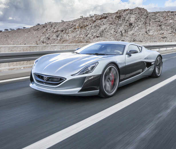Concept_One All Electric Car by Rimac