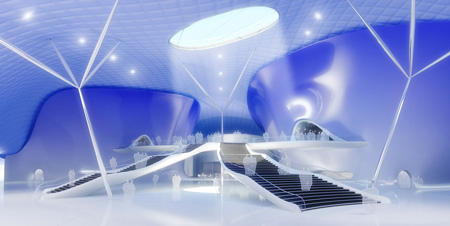 concert center by future system