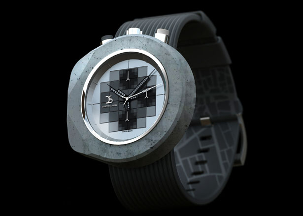 Concrete Watch by Dzmitry Samal