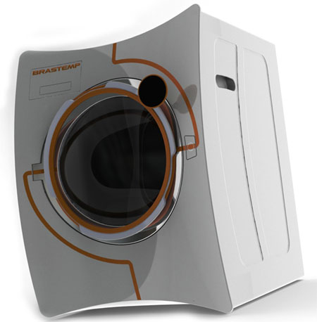 Conecta Washing Machine And Dryer Gives Style And Performance To The Future Household