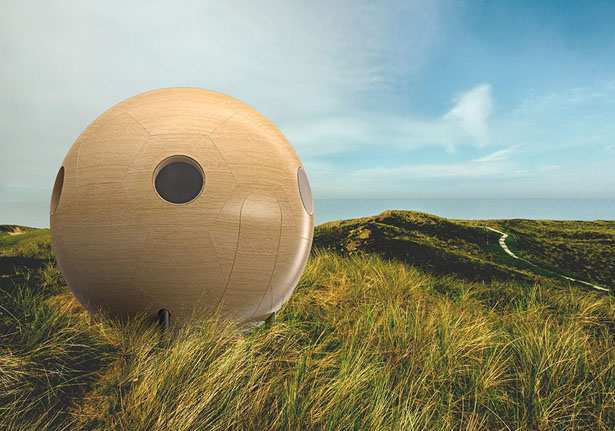 In The Future, You Might Live in These Conker Living Pods