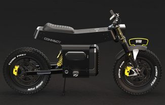 Connect Electric Motorcycle for Daily Commuting As Well As Delivery Service Vehicle