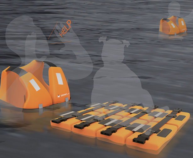 Connect : A Life Jacket and Floating Device in One