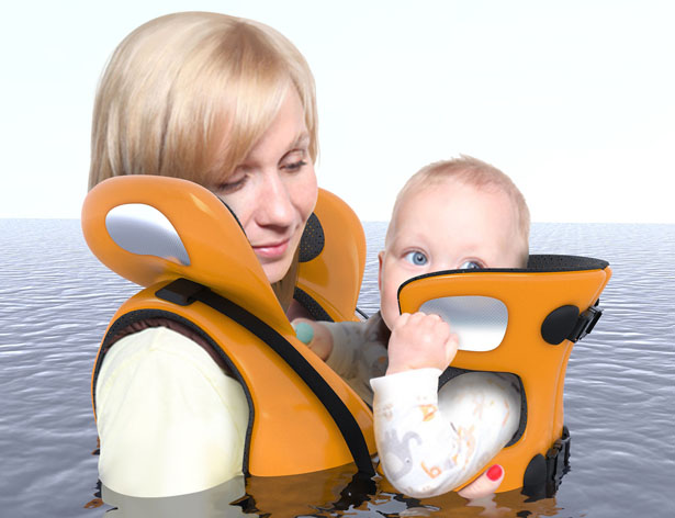 Connect Life Jacket by Jialin Song, Kun Xu, Yumo Jiang, and Chaojun Zhang