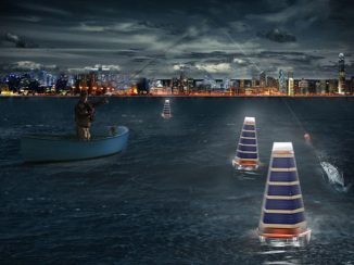 ConSoLight Solar Powered Floating Sea Lantern Concept for Fishing