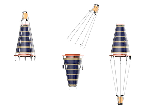 ConSoLight solar powered floating sea lantern by Hakan Gursu of DesignNobis
