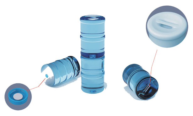 Convenient Pail Water Dispenser Bottle