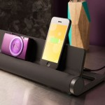 Converge : 4-port USB Charging Station to Avoid Messy Desk