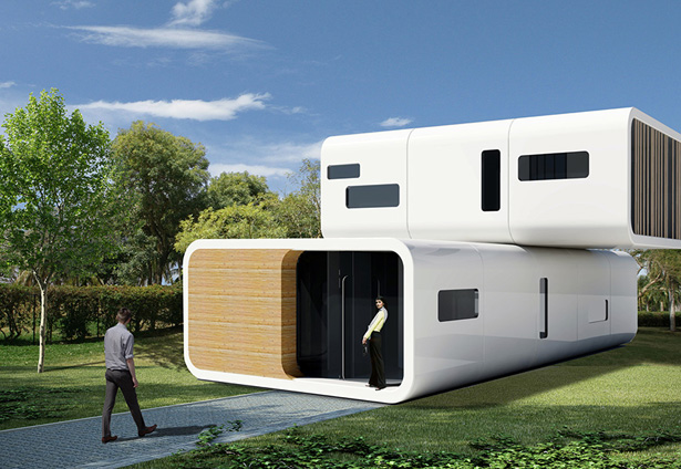 Coodo residential building my home modular prefabricated building to live anywhere tuvie Build my home