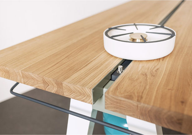 Cooking Table by Moritz Putzier