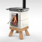 CookinStack : Modern Ceramic Stove by Adriano Design and La Castellamonte
