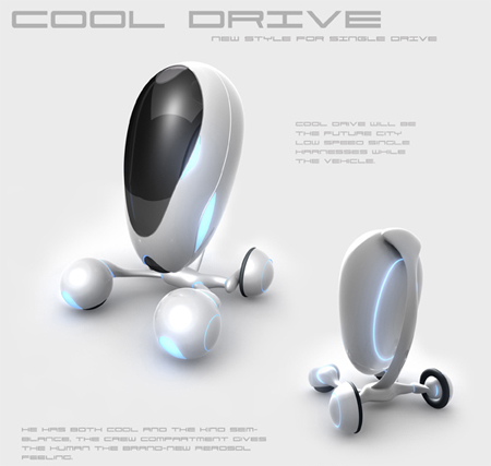 cool drive - single driver vehicle