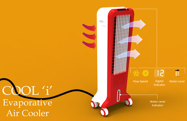 COOL-I Air Cooler Design Concept by Bhagvanji.M.Sonagra
