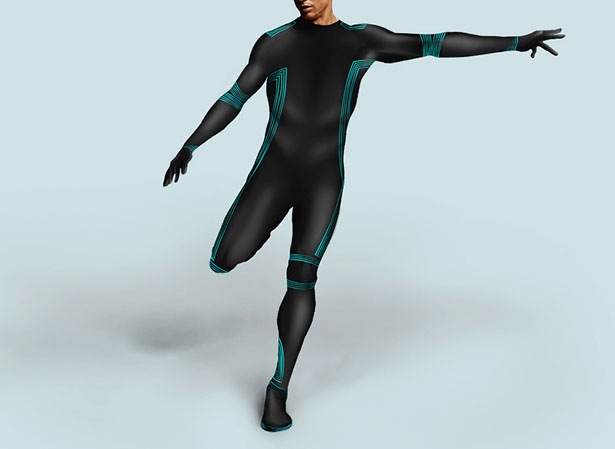 Cooling body suit for a sports player to stay cool tuvie for Virtual suit builder