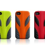 COOLOUS Alien iPhone 4 Case With Interchangeable Skin