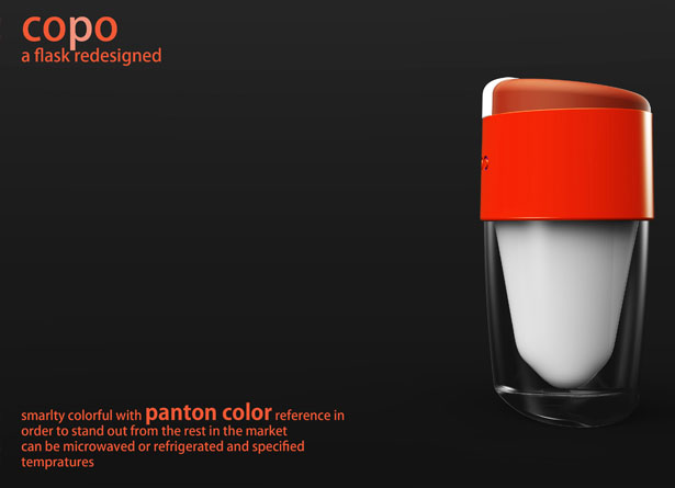 COPO - a Coffee Flask with a Contrast by Subinay Malhotra