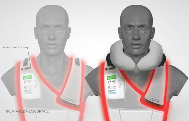Core Patient Recovery Vest by Christopher Wright