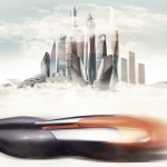 Sea Creatures And Zaha Hadid Architecture Became Inspiration For A Futuristic Vehicle That Splits In Two