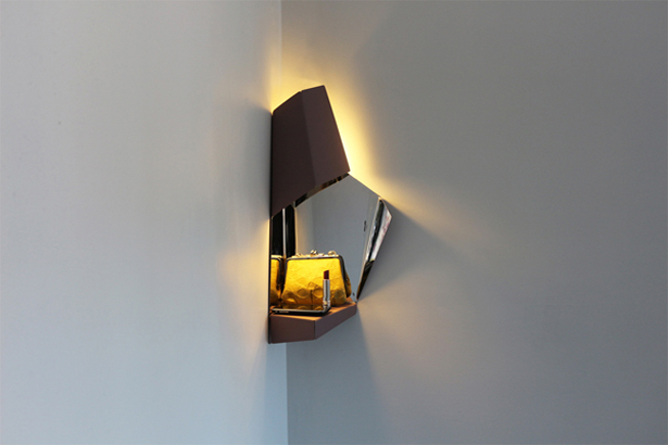 Corner Light by Angelika Seeschaaf Veres