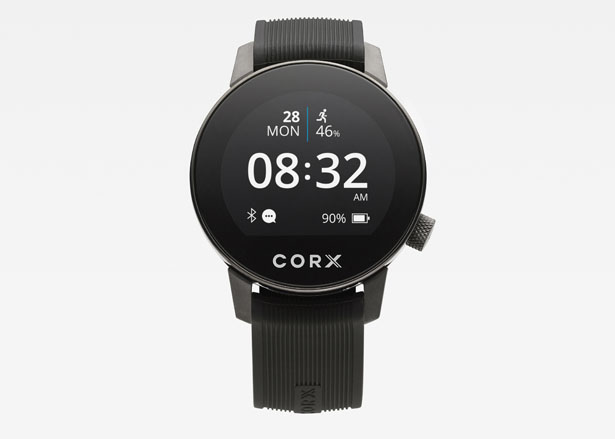 CORX Biometric Smartwatch by Andrea Ponti