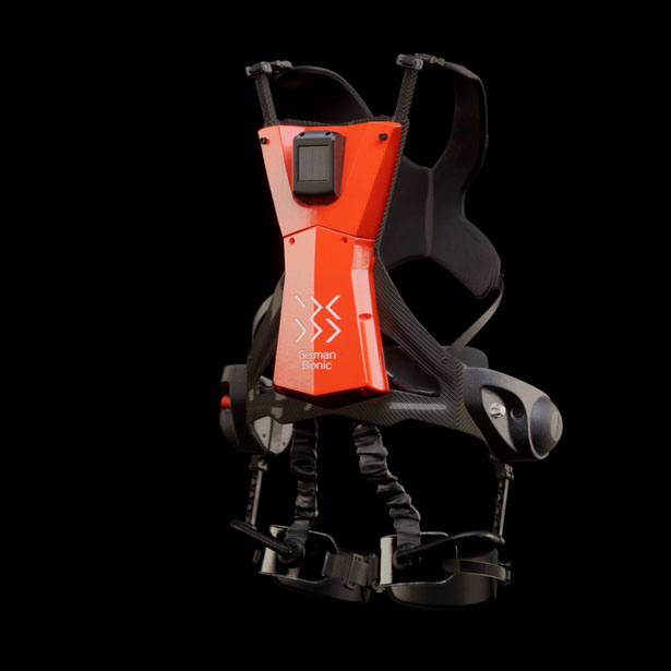 Cray X Exoskeleton - Ultralight Carbon Fiber Smart Power Suit to Support Lifting Heavy Loads by German Bionic