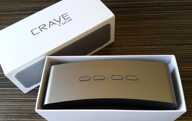 Crave Curve Bluetooth Speaker Hands-on Review with Pros and Cons