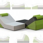 """Creative Wedge"" : Customizable Foam Furniture"