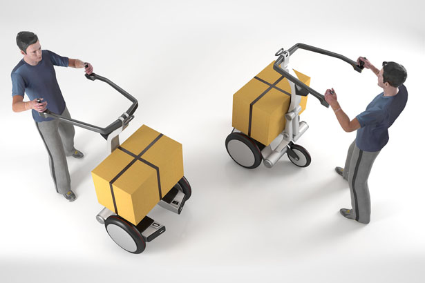 CrickIT Personal Transport Aid by CONCEPTICON Studio
