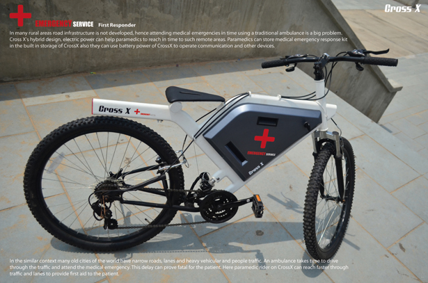 Cross X Hybrid Bicycle by Mithun Darji
