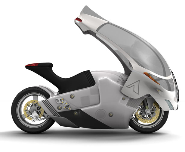 Crossbow Motorcycle by Phil Pauley