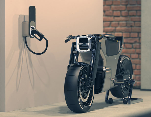 CRTWRKS Moto by Adam Carvalho - Futuristic Motorcycle Concept Provides Both Digital and Physical Experience for Rider