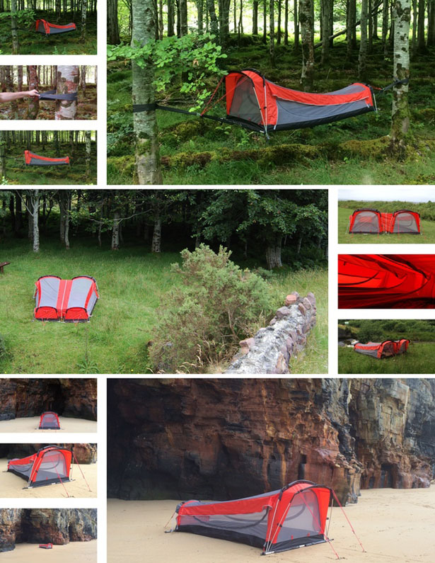 Crua Hybrid Travel Tent Allows You to Sleep Anywhere Without Worry