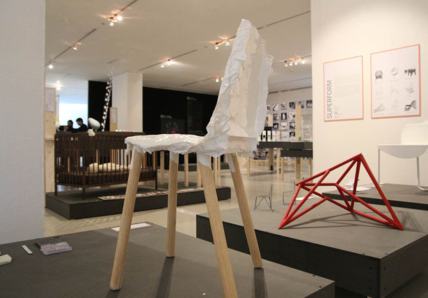 Crumpled Chair – A Chair with Unexpected Form Resulting From A Manufacturing Process Based on Natural Phenomena